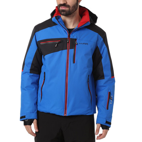 Kitzbuehel Ski Jacket // Blue + Black