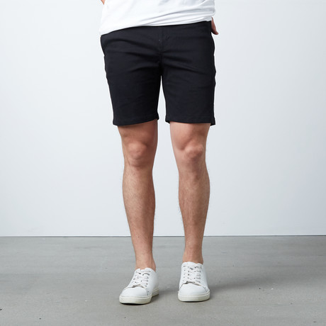 Pacific Classic Cotton Shorts // Black