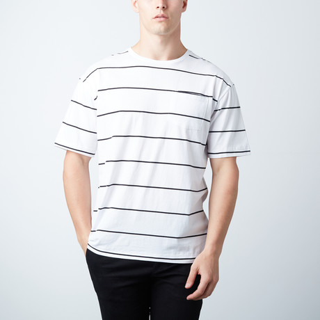 Cable Jersey Short Sleeve // White