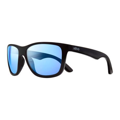 Otis Sunglasses // Black + Blue Water