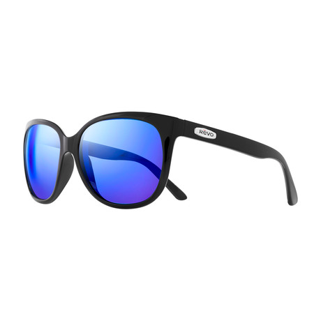 Grand Classic Sunglasses // Glass Lenses // Black + Heritage Blue