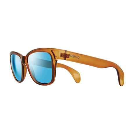 Trystan Sunglasses // Root Beer + Blue Water