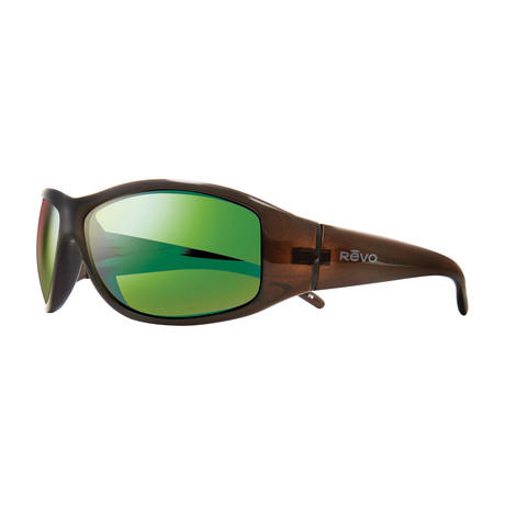 Tander Sunglasses // Brown Horn + Green Water