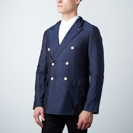 Theodore Tailored Jacket // Navy