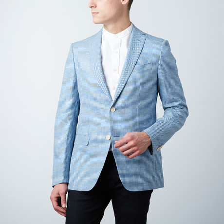 Cole Tailored Jacket // Blue