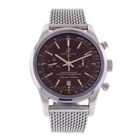 Breitling Transocean Chronograph Automatic // AB01557UQ610 // New