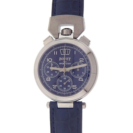 Bovet Sportster Chronograph Automatic // SP0451-GOMA-BA // New