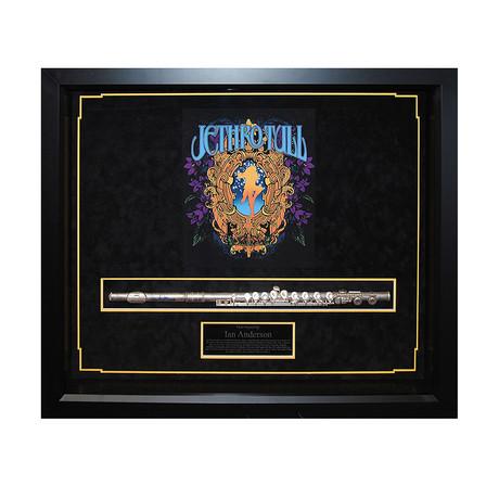 Framed Flute Collage // Jethro Tull