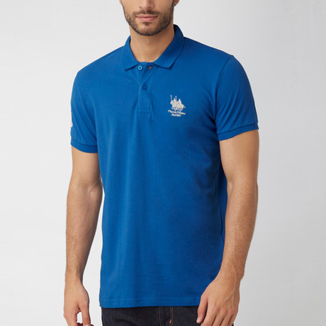 Polo Club Shirt // Sax + Silver (2XL)