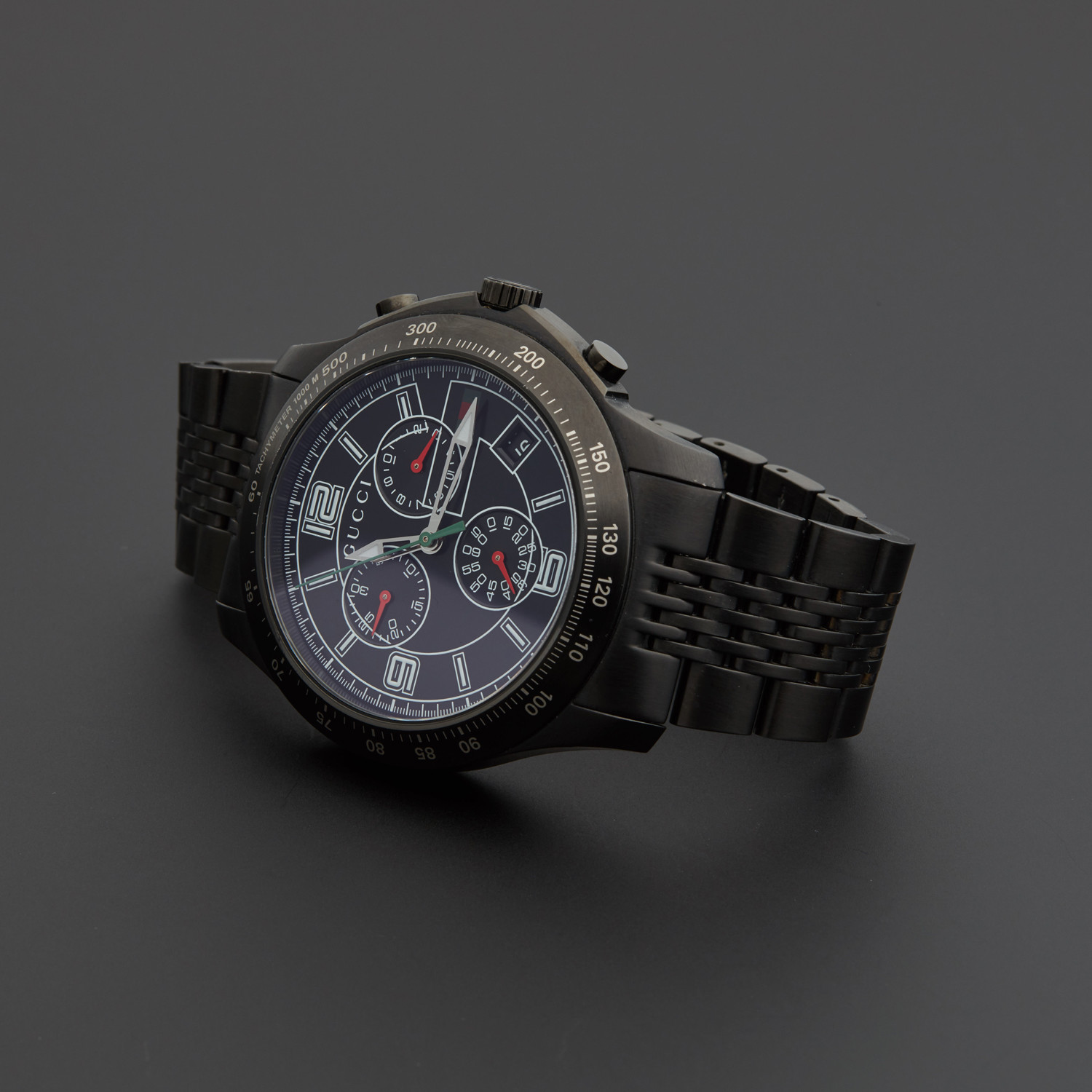 aa2069174c7 Gucci G-Timeless PVD Quartz    YA126217    Pre-Owned - Outstanding ...