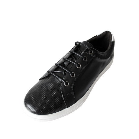 Lace-Up Sneaker // Black