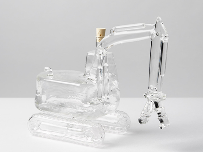 Photo of UNI-G Artisan Glass Decanters + Cruets Machinery // Grabber by Touch Of Modern