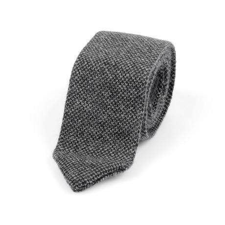 Brunello Cucinelli Cashmere Tie // Gray