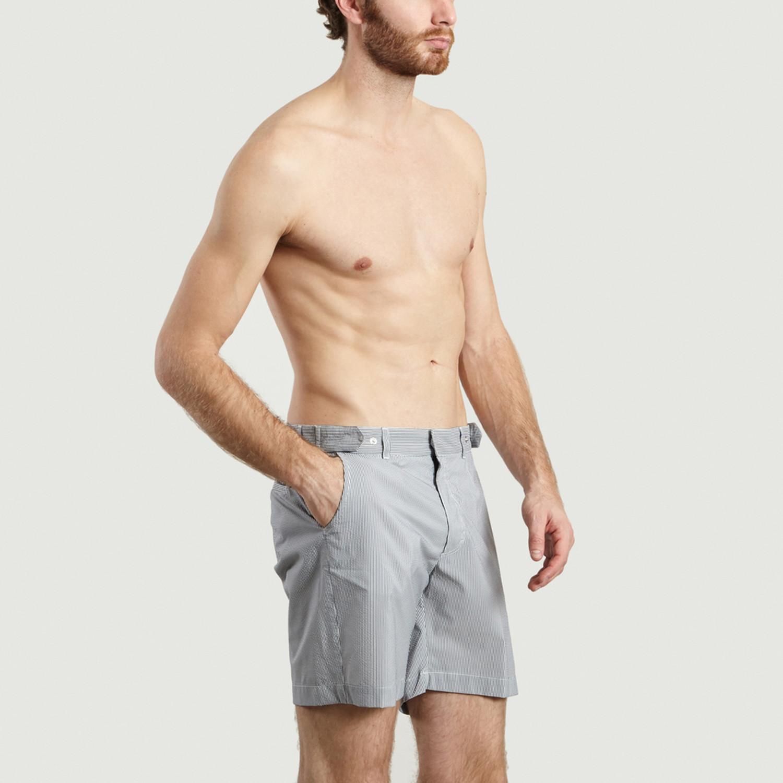 3bf1eeac4d Smart Swim Shorts // Blue Stripes (XS) - Jagvi - Touch of Modern