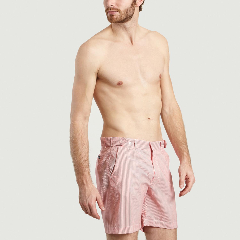 1b8f92ae2d Smart Swim Shorts // Red Stripes (XS) - Jagvi - Touch of Modern