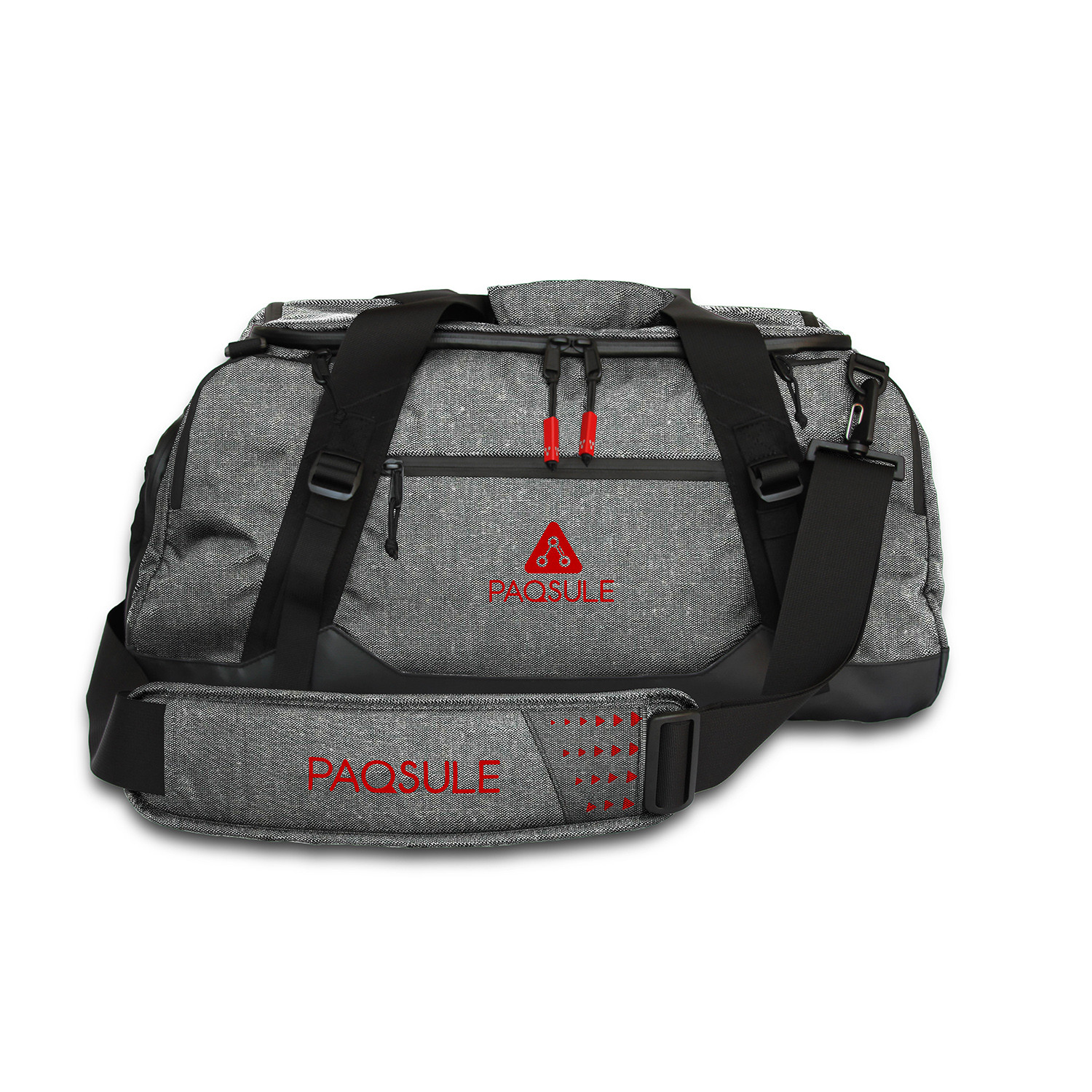 46b19213a370 PaqSule Self-Sanitizing Gym Bag    Gray - PaqSule - Touch of Modern