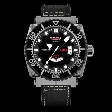 Formex DS 2100 GMT Quartz // DS2100.3.2022.213