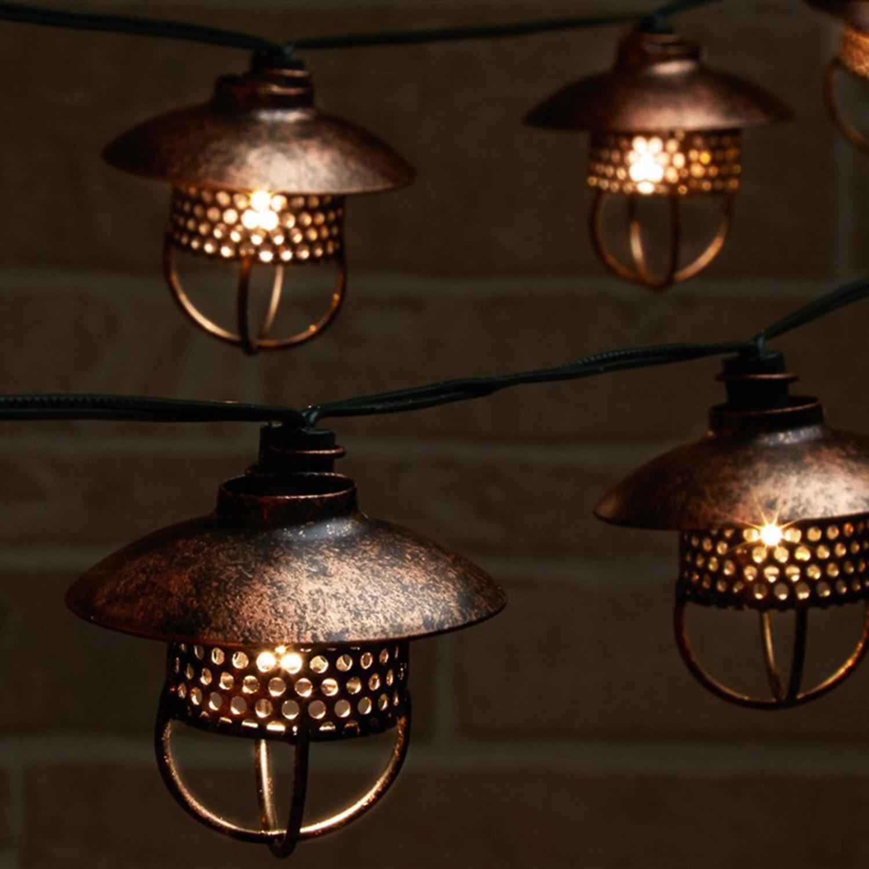 Dante Solar String Lights - Smart Living Home & Garden - Touch of Modern