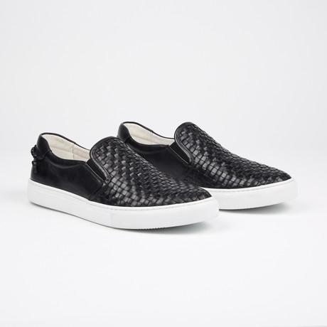 Slateford Casual Low-Top Sneakers // Black