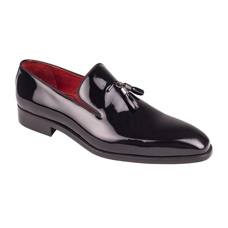 Tassel Loafer  // Black Patent (Euro: 39)