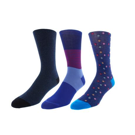 Blaze Socks // 3 Pack