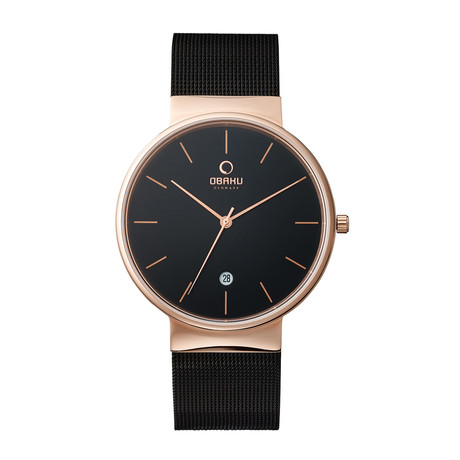 Obaku Klar Night Quartz // V153GDVBMB
