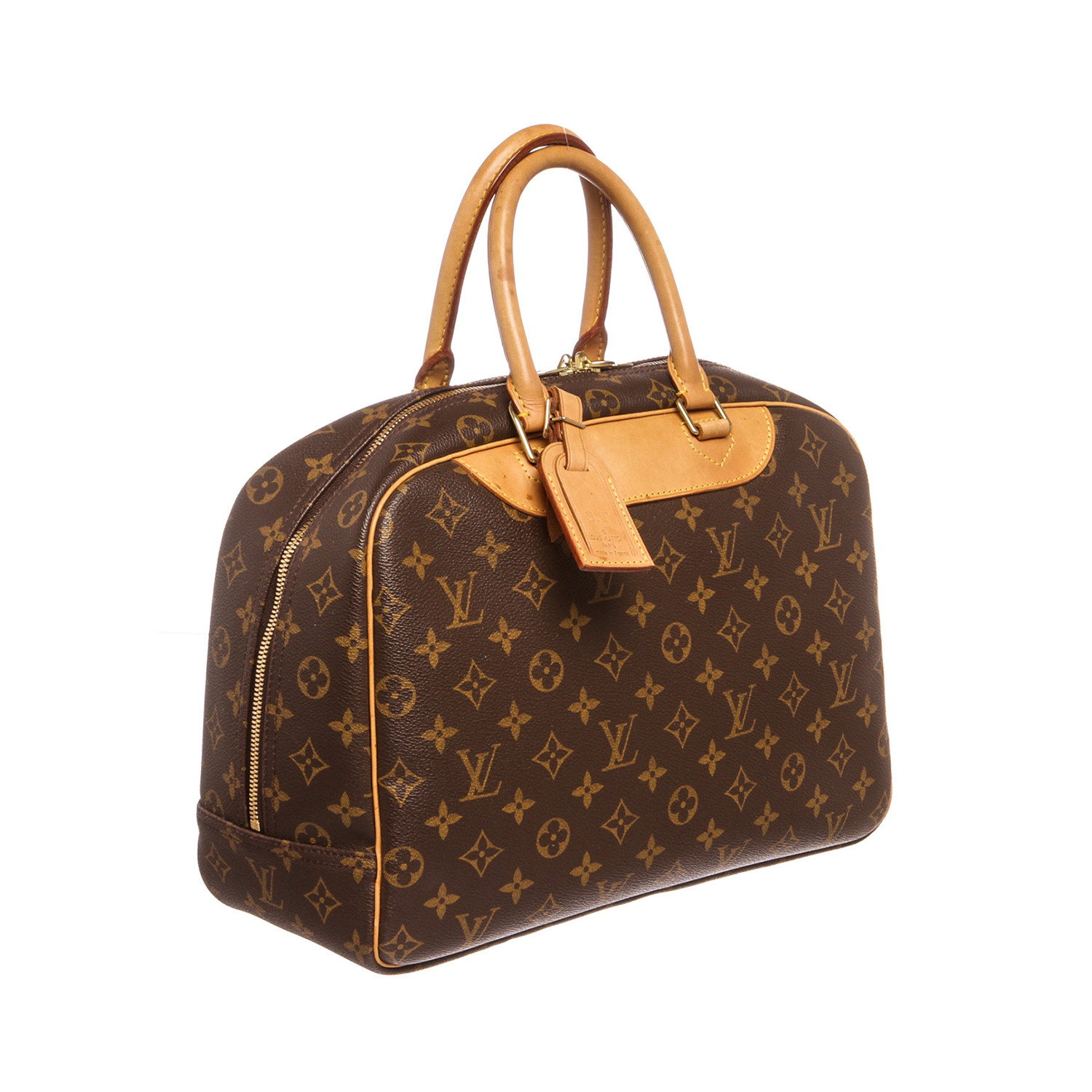 louis vuitton monogram deauville doctor bag pre owned louis vuitton touch of modern. Black Bedroom Furniture Sets. Home Design Ideas
