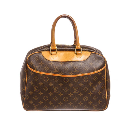 Louis Vuitton // Monogram Canvas Leather Deauville Doctor Bag // Pre-Owned