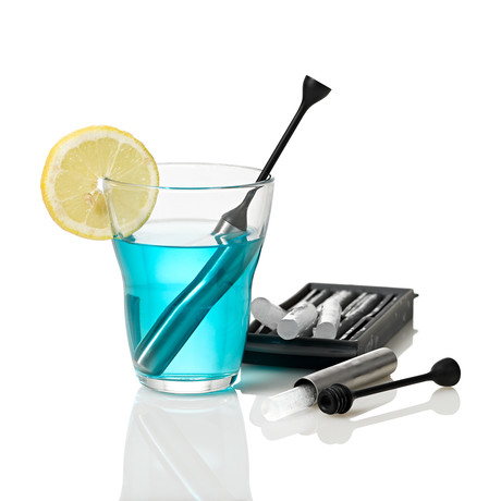 Icestick // Cooling Stick // Set Of 2 + Silicone Ice Stick Tray