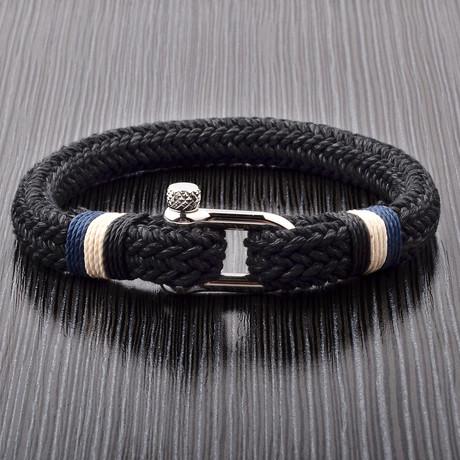 Cotton Cord Screw Bracelet