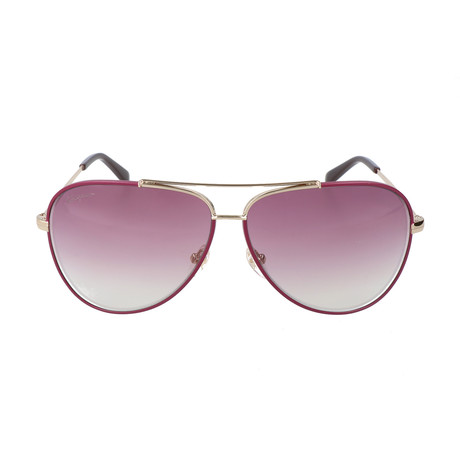 Unisex SF131S Sunglasses // Shiny Light Gold