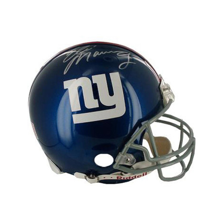 Signed Giants Helmet // Eli Manning