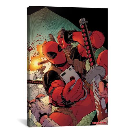 Deadpool // 2008 #50 // Nick Bradshaw Cover