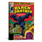 "Marvel Comics Retro // 1977-1979 #7 // Black Panther (26""W x 18""H x 0.75""D)"