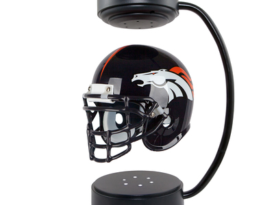 Photo of Hover Helmets Levitating NFL Helmets Denver Broncos Hover Helmet by Touch Of Modern