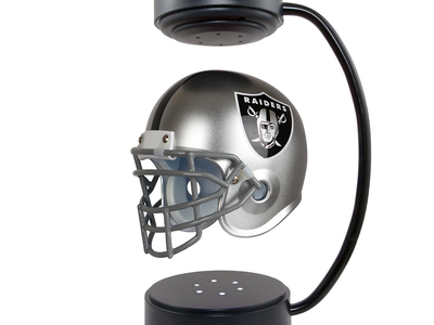 Photo of Hover Helmets Levitating NFL Helmets Oakland Raiders Hover Helmet by Touch Of Modern