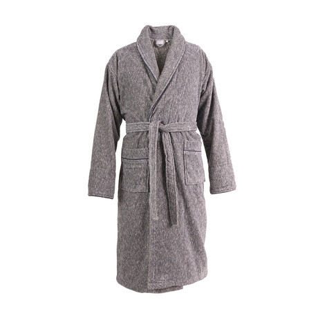Bathrobe // Black Melange (S/M)