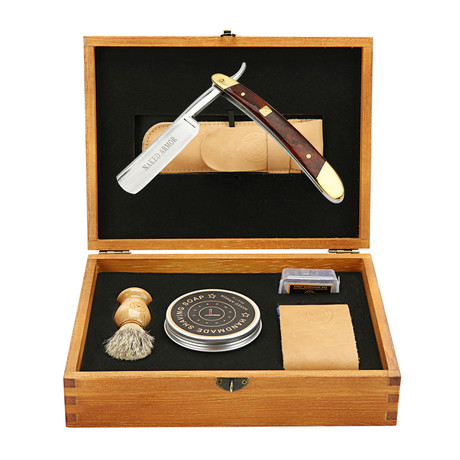 Solomon Shaving Gift Box