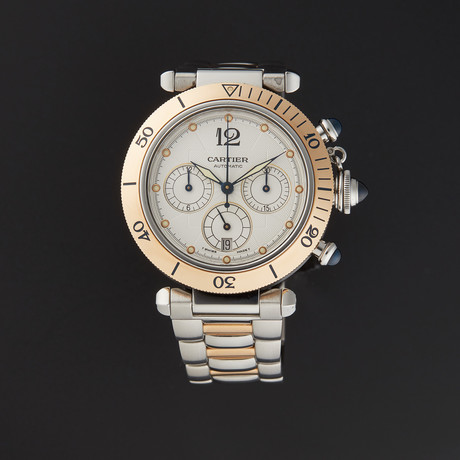 Cartier Pasha Chrono Automatic // Pre-Owned