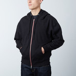 Perfect Zip Hoodie // Black (XL)