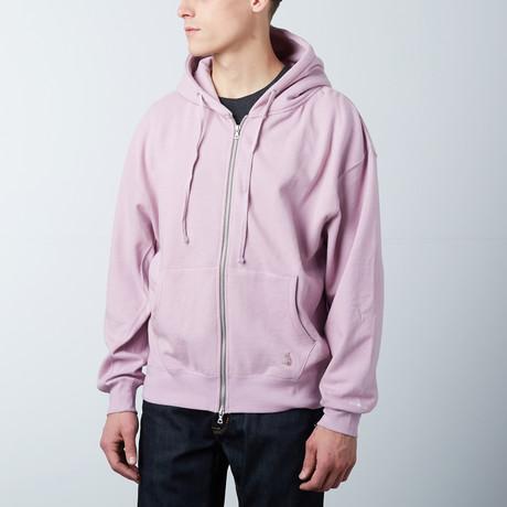 Perfect Zip Hoodie // Dusty Pink