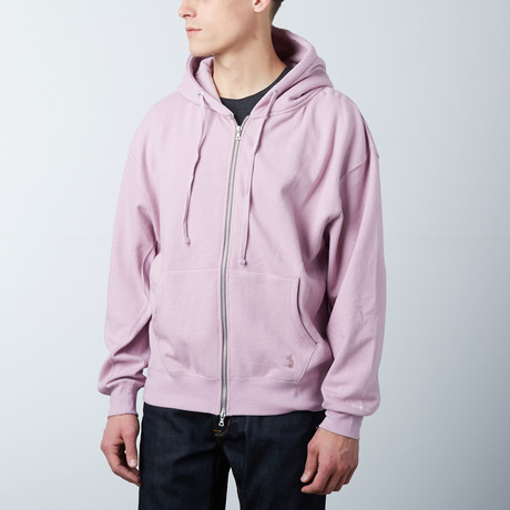 Perfect Zip Hoodie // Dusty Pink (S)