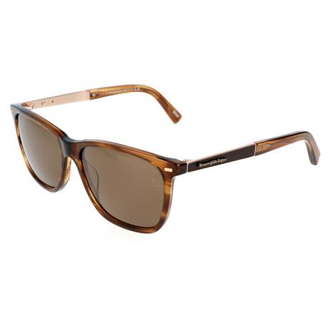 Men's EZ0023 Sunglasses // Tortoise