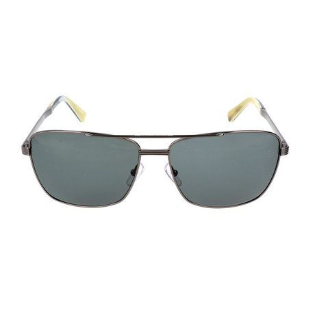 E. Zegna // Catarino Sunglasses // Gunmetal
