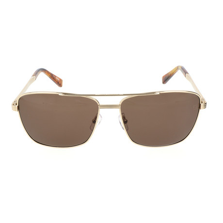 E. Zegna // Catarino Sunglasses // Gold
