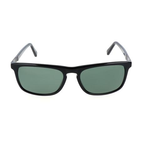 Arlo Sunglass // Black + Green