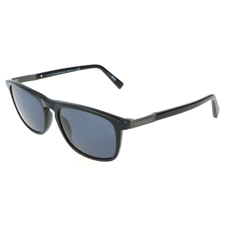 Men's EZ0045 Sunglasses // Black + Gray