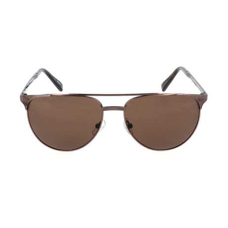 E. Zegna // Bettino Sunglass // Brown
