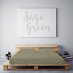 Moisture Wicking 1500 Thread Count Soft Sheet Set // Sage Green (Queen)