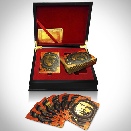24K Gold Plated Playing Cards // Che Guevara